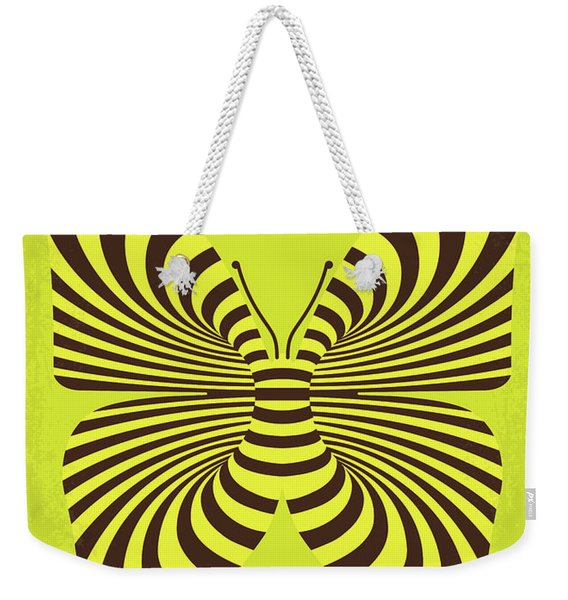 No697 My The Butterfly Effect Minimal Movie Poster Weekender Tote Bag