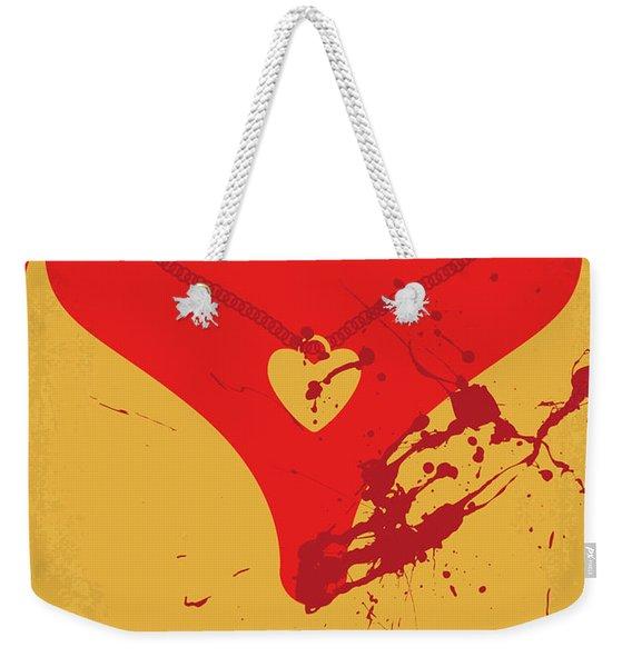No698 My Jennifers Body Minimal Movie Poster Weekender Tote Bag