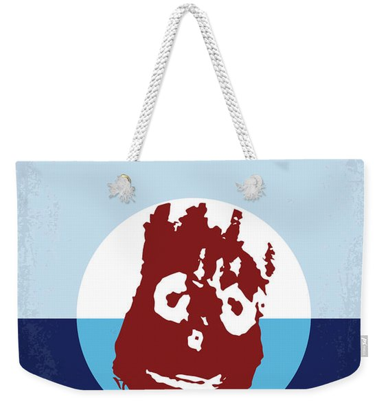 No718 My Cast Away Minimal Movie Poster Weekender Tote Bag