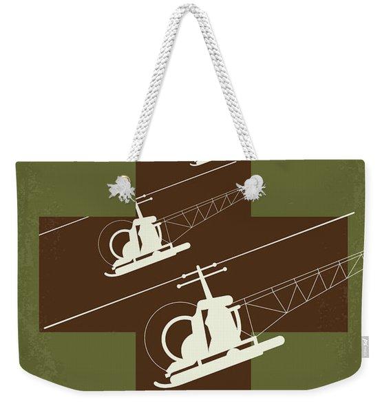 No733 My Mash Minimal Movie Poster Weekender Tote Bag