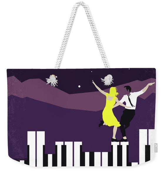 No756 My La La Land Minimal Movie Poster Weekender Tote Bag