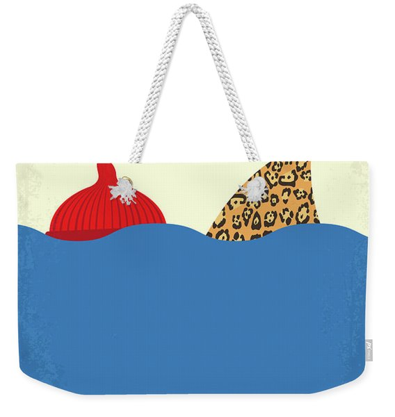 No774 My The Life Aquatic With Steve Zissou Minimal Movie Poster Weekender Tote Bag