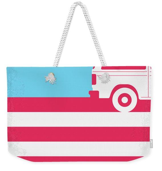 No786 My American Honey Minimal Movie Poster Weekender Tote Bag