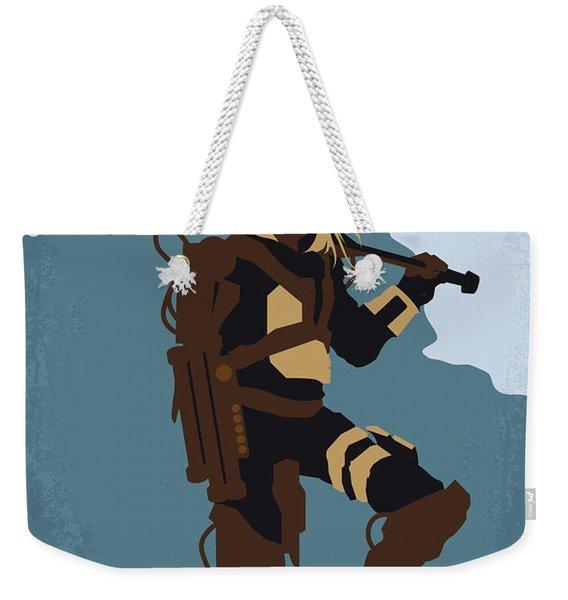 No790 My Edge Of Tomorrow Minimal Movie Poster Weekender Tote Bag
