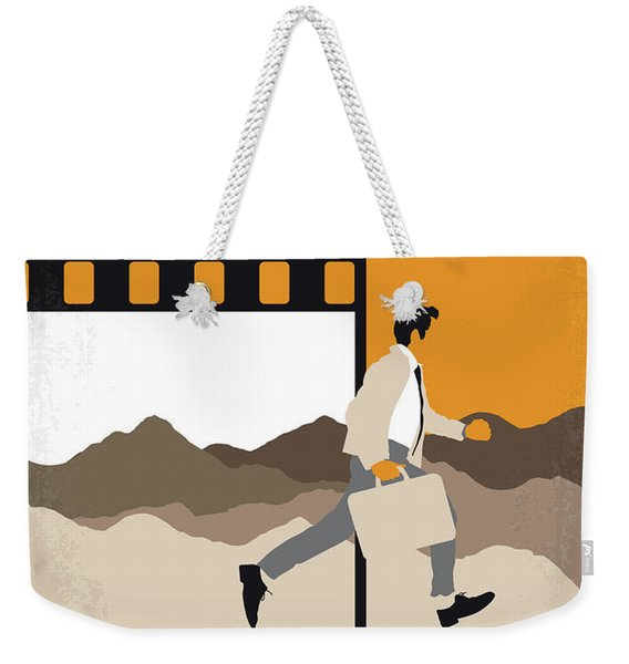 No806 My The Secret Life Of Walter Mitty Minimal Movie Poster Weekender Tote Bag