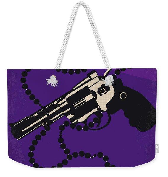 No823 My Mean Streets Minimal Movie Poster Weekender Tote Bag