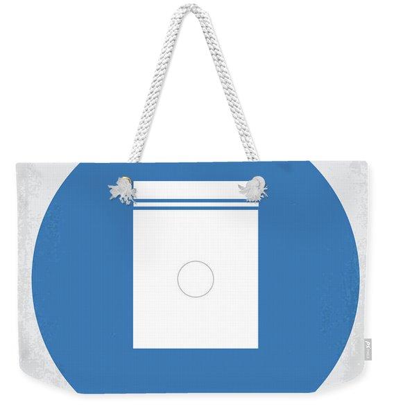 No828 My Limitless Minimal Movie Poster Weekender Tote Bag