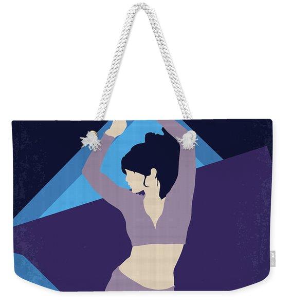 No832 My Silver Linings Playbook Minimal Movie Poster Weekender Tote Bag