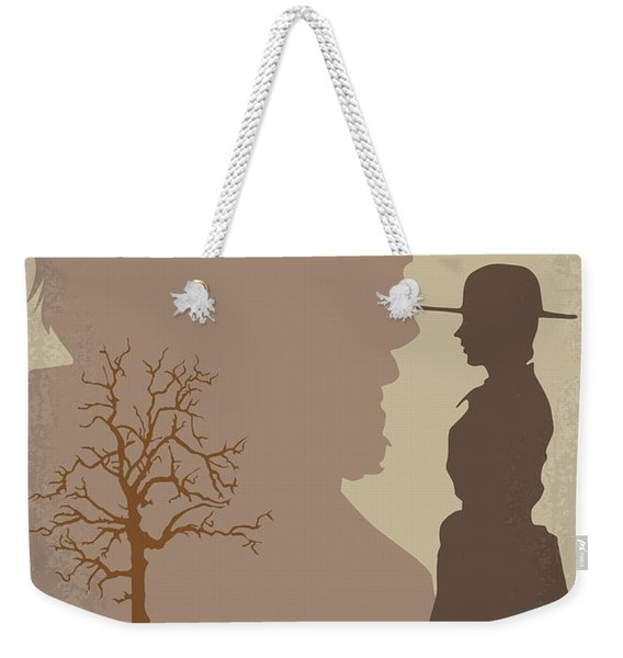 No860 My True Grit Minimal Movie Poster Weekender Tote Bag