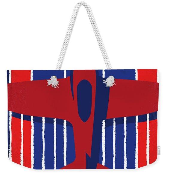 No869 My American Made Minimal Movie Poster Weekender Tote Bag