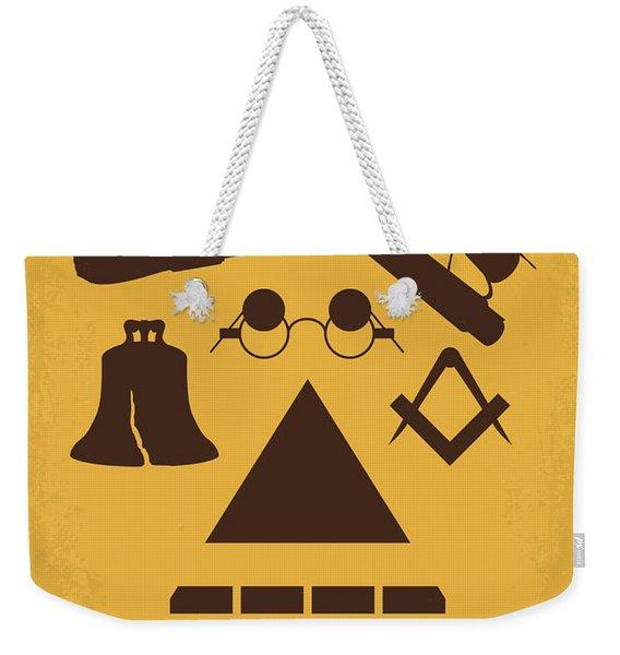 No887 My National Treasure Minimal Movie Poster Weekender Tote Bag