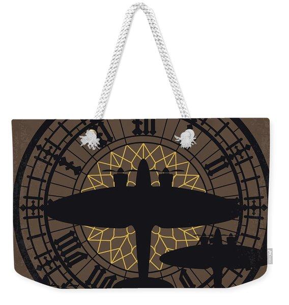 No901 My Darkest Hour Minimal Movie Poster Weekender Tote Bag
