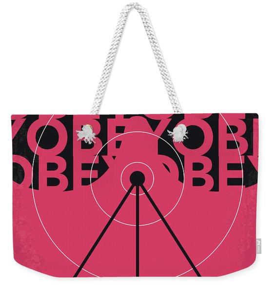 No919 My They Live Minimal Movie Poster Weekender Tote Bag