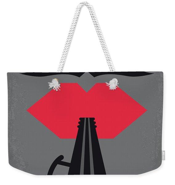No924 My Ed Wood Minimal Movie Poster Weekender Tote Bag