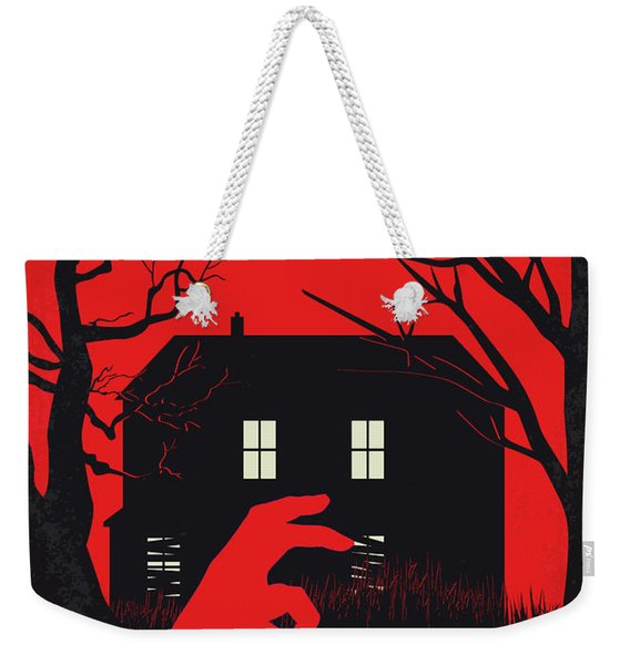 No935 My Night Of The Living Dead Minimal Movie Poster Weekender Tote Bag