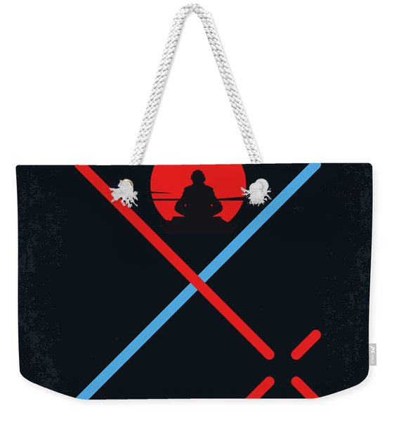 No940 My Star Wars Episode Viii The Last Jedi Minimal Movie Poster Weekender Tote Bag