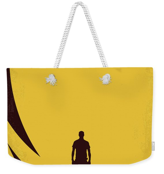 No947 My Sunshine Minimal Movie Poster Weekender Tote Bag