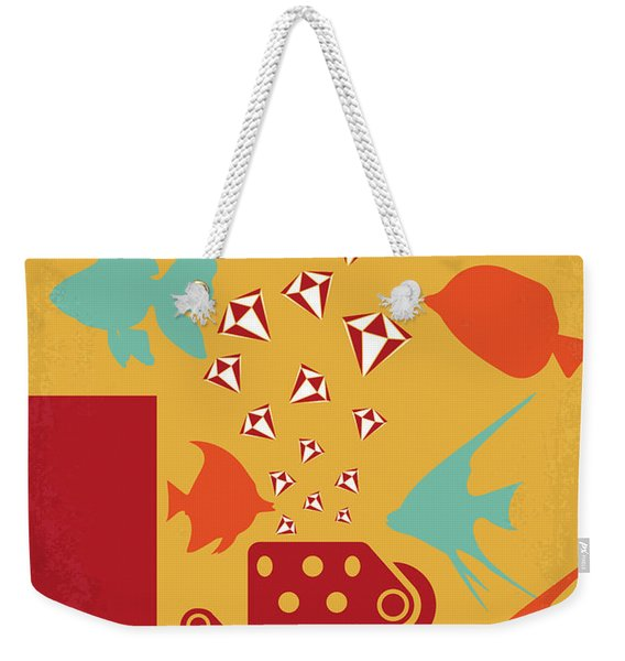 No953 My Out Of Sight Minimal Movie Poster Weekender Tote Bag