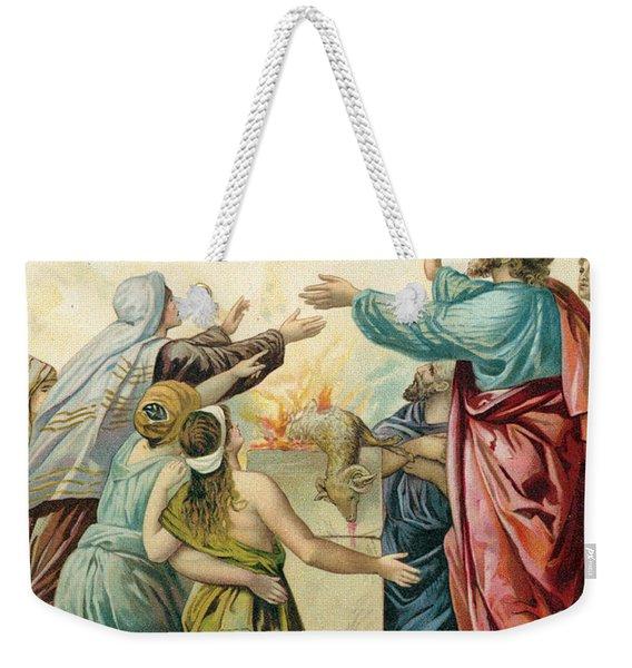 Noah's Sacrifice Weekender Tote Bag