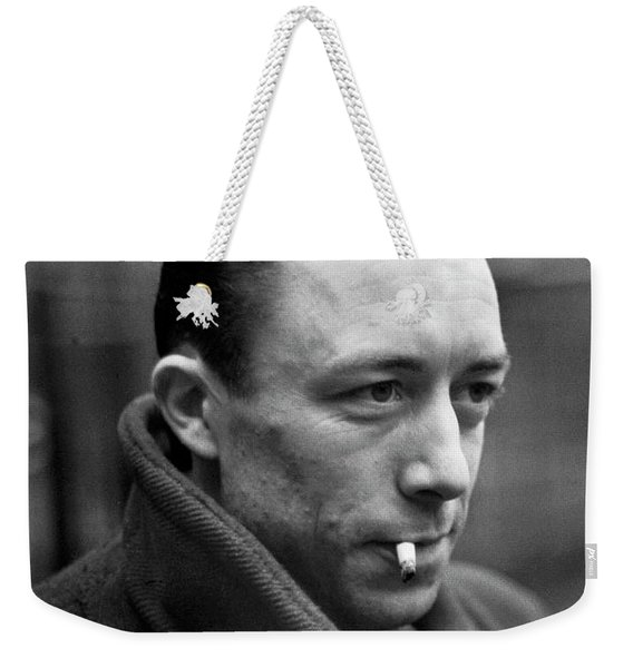 Nobel Prize Winning Writer Albert Camus Paris, France, 1944 -2015 Weekender Tote Bag