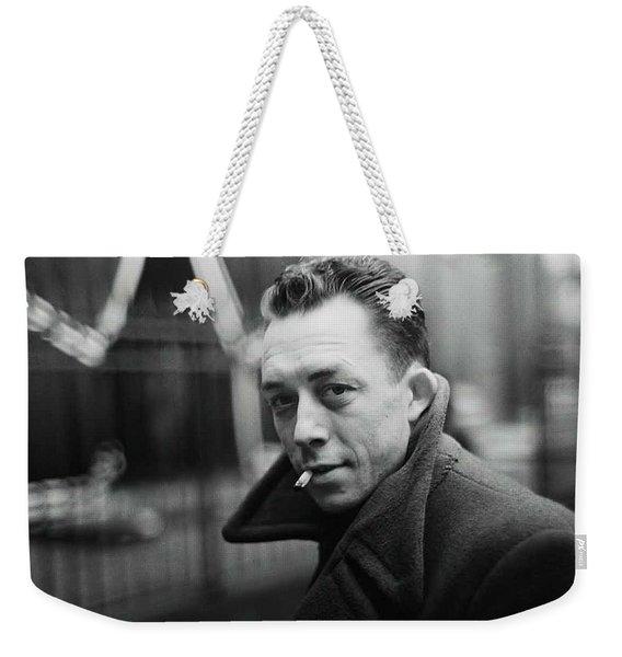 Nobel Prize Winning Writer Albert Camus Paris 1944 - 2015           Weekender Tote Bag