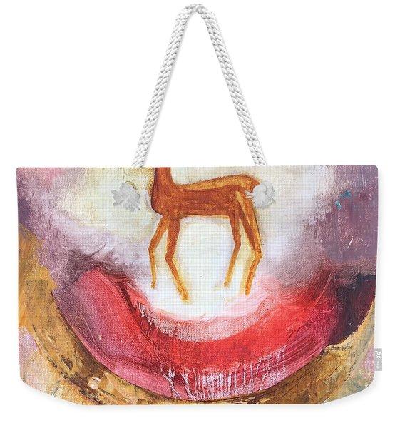 Noble Deer Weekender Tote Bag