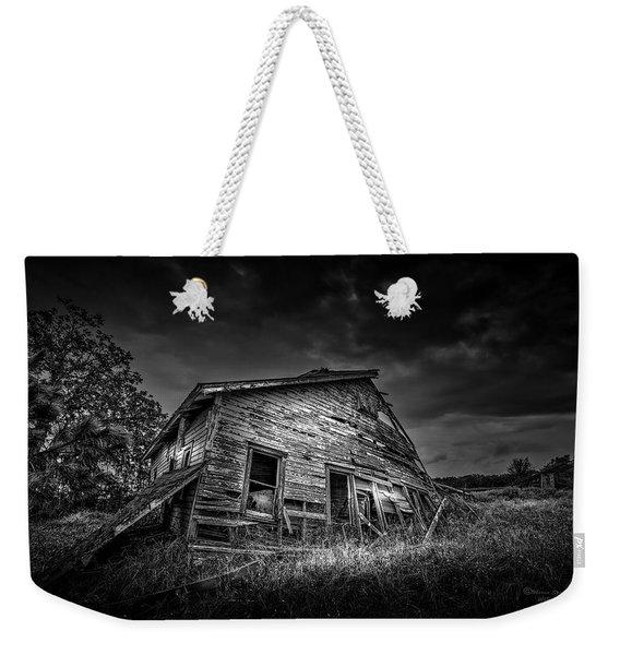 Nobody's Home Weekender Tote Bag