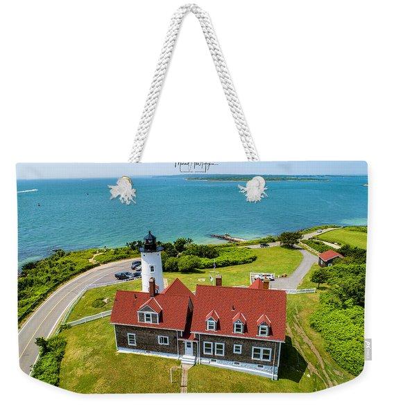 Nobska Light House  Weekender Tote Bag