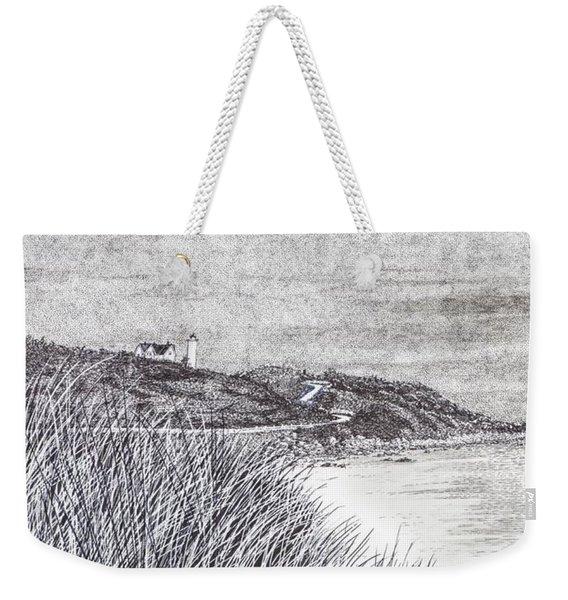 Nobska Lighthouse Weekender Tote Bag
