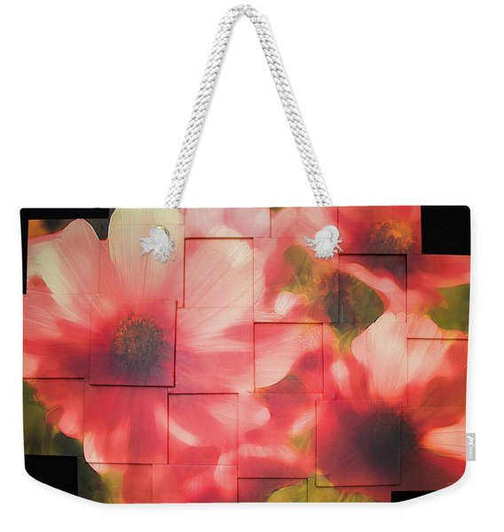 Nocturnal Pinks Photo Sculpture Weekender Tote Bag