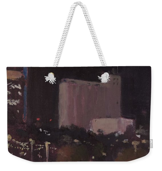 Nocturnal Tempe  - Art By Bill Tomsa Weekender Tote Bag