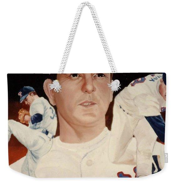 Nolan Ryan Medley Weekender Tote Bag