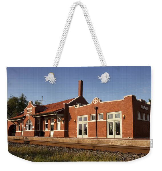 Norman Train Depot Weekender Tote Bag