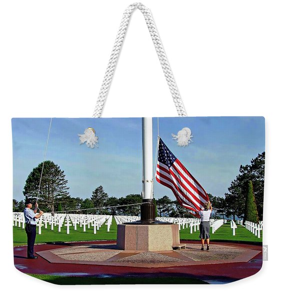 Normandy - There Are No Words Weekender Tote Bag