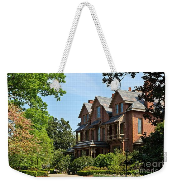 North Carolina Executive Mansion Weekender Tote Bag
