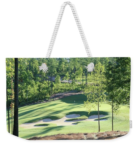 North Carolina Golf Course 12th Hole Weekender Tote Bag