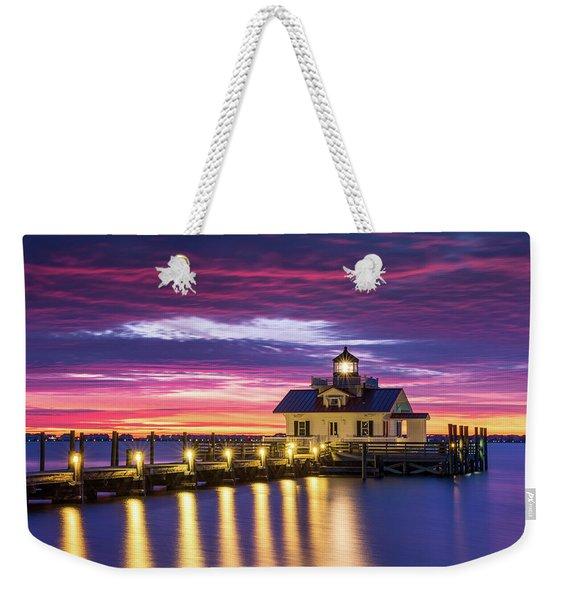 North Carolina Outer Banks Lighthouse Manteo Obx Nc Weekender Tote Bag