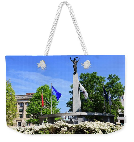 North Carolina Veterans Monument Weekender Tote Bag
