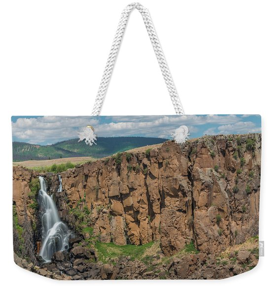 North Clear Creek Falls, Creede, Colorado 2 Weekender Tote Bag