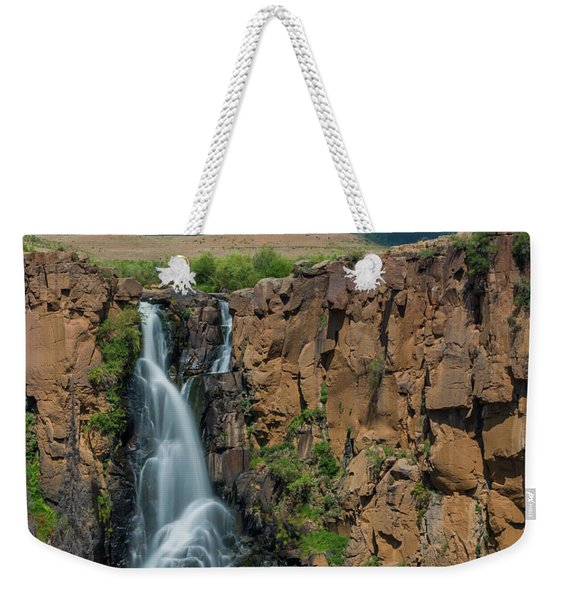 North Clear Creek Falls, Creede, Colorado Weekender Tote Bag