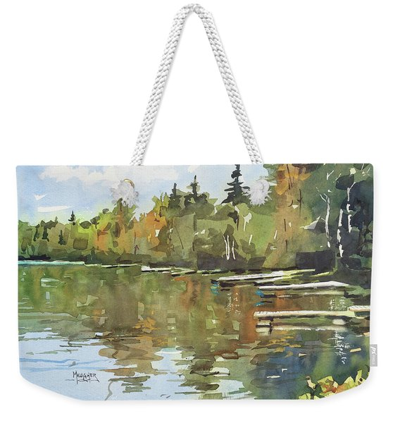 North Country Reflections Weekender Tote Bag