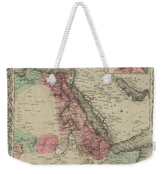 North Eastern Africa Weekender Tote Bag