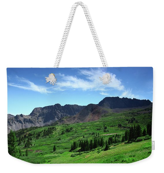 North Fork Lake Weekender Tote Bag