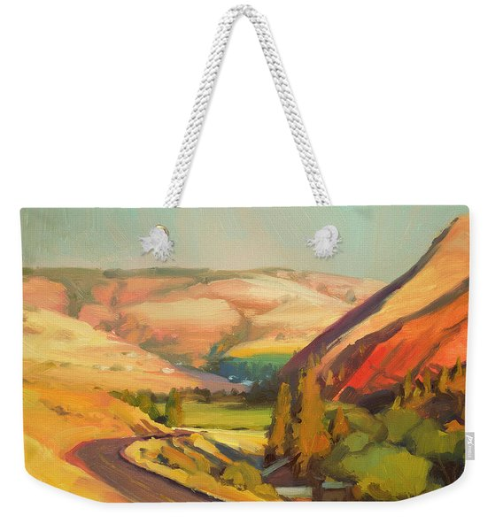 North Fork Touchet Weekender Tote Bag