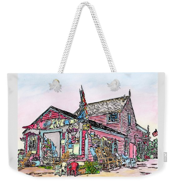 North Shore Kayak Shop, Rockport Massachusetts Weekender Tote Bag