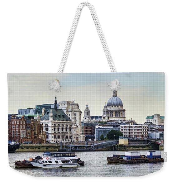 North Side Of The Thames Weekender Tote Bag