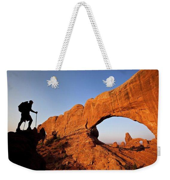 North Window Arch Weekender Tote Bag