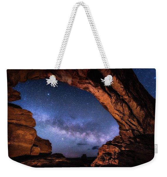 North Window Milky Way Weekender Tote Bag