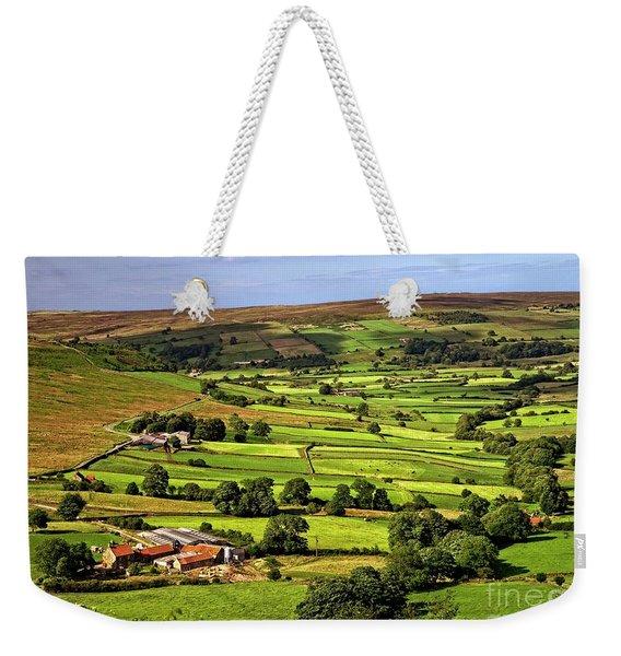 North York Moors Countryside Weekender Tote Bag