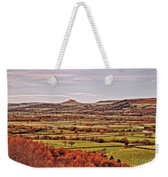 North Yorkshire Landscape Weekender Tote Bag